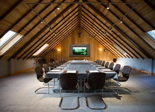 Fully equipped conference suite