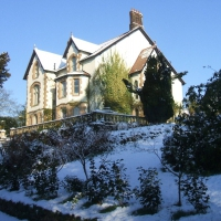 Temple Manor in snow pic 2
