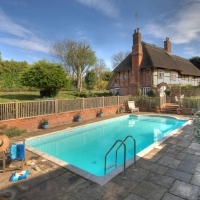 Thatchers Cottage  Pool