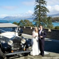 Anglesey Chateau happy couple
