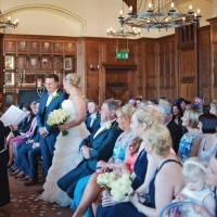 Anglesey Chateau wedding ceremony