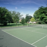 Tennis Court - Mears Ashby Hall